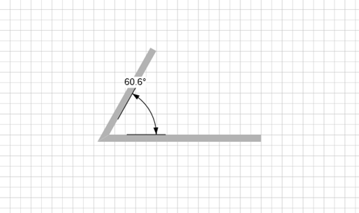 Angular dimensions handset designer avontus software documentation use the angular dimension to show the angle of two connected walls or as a guide to help set the correct angle between shapes once glued the dimension ccuart Images